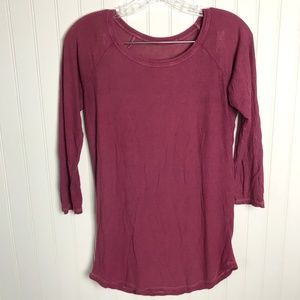 AMERICAN EAGLE Don't ask Why Basic Tee Ripped M